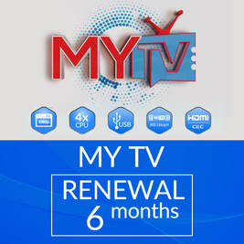 6 MONTHS MYTV SUBSCRIPTION RENEWAL