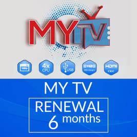 6 MONTHS MYTV SUBSCRIPTION RENEWAL