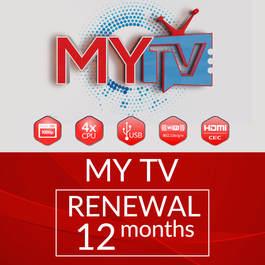 12 MONTHS MYTV SUBSCRIPTION RENEWAL